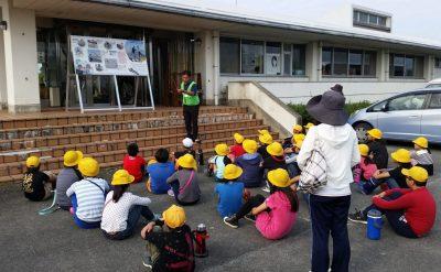 柳川市内の小学5年生の生徒達