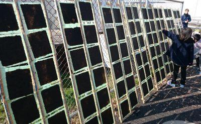 福岡有明海漁連さんの「海苔すき体験」