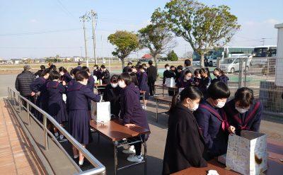 「修学旅行体験学習」で多くの学生が来館